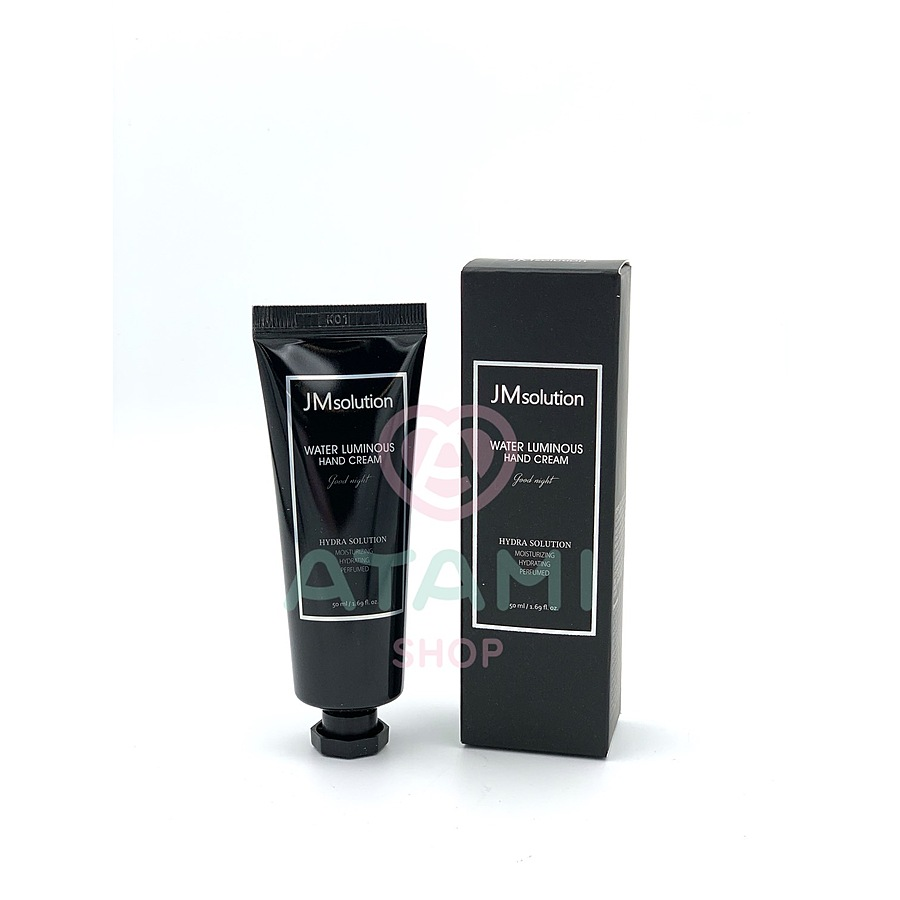 JM SOLUTION Water Luminous Hand Cream Good Night, 50мл. Крем для рук вечерний