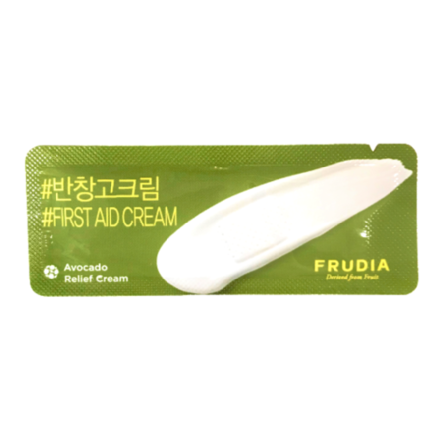 FRUDIA Avocado Relief Cream, 2мл. Пробник крема для лица с авокадо