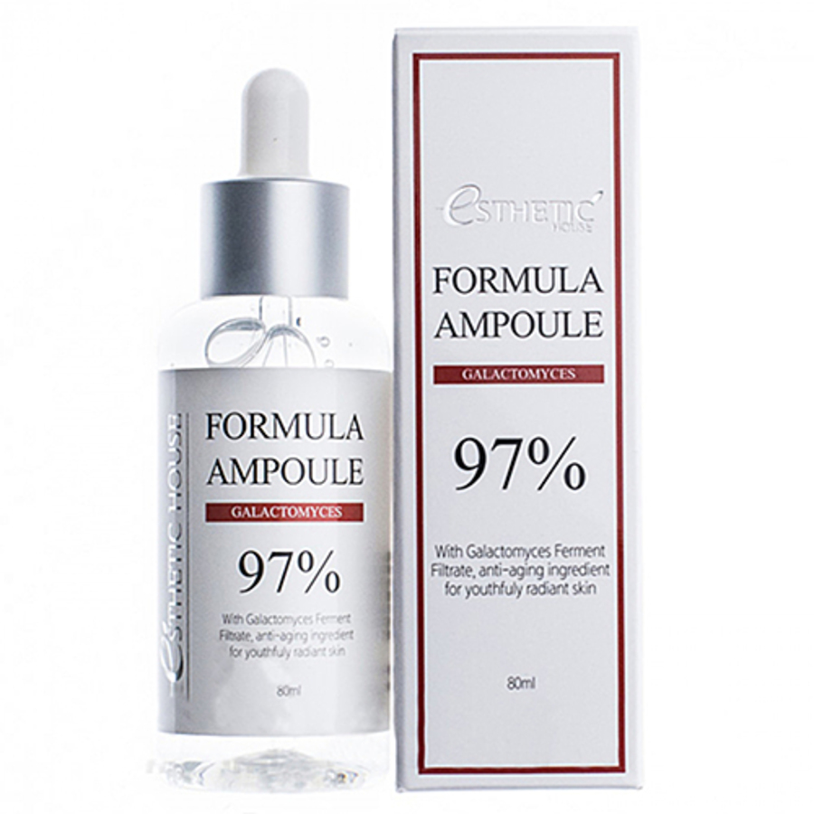 ESTHETIC HOUSE Formula Ampoule Galactomyces, 80мл. Сыворотка для лица с 97% экстрактом галактомисиса