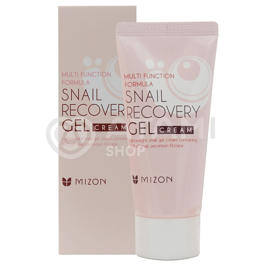 MIZON Snail Recovery Gel Cream Крем-гель для лица с муцином улитки