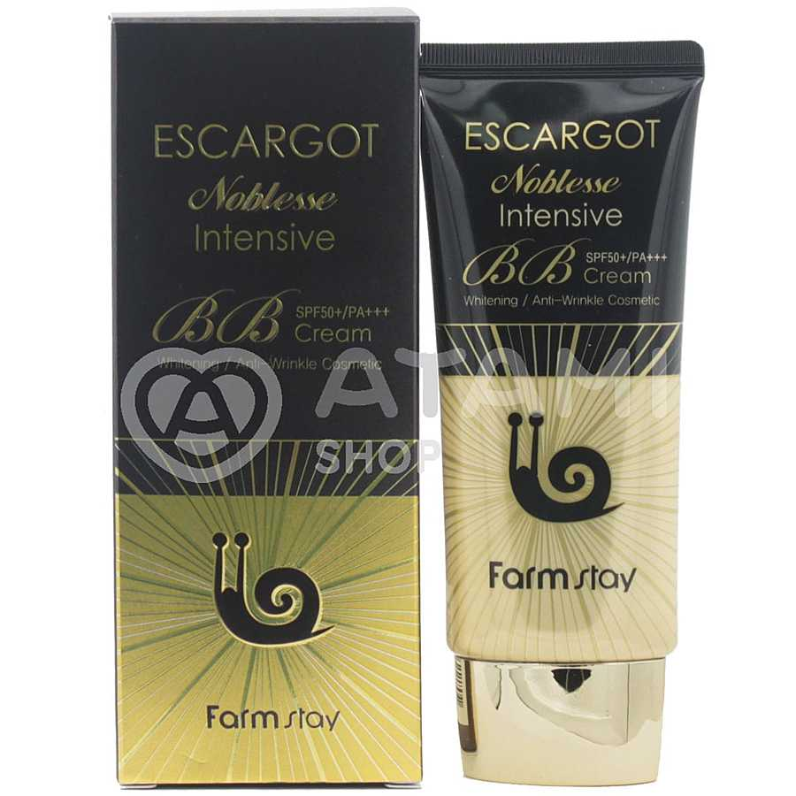 FARMSTAY Escargot Noblesse Intensive SPF 50+ PA+++ BB крем для лица