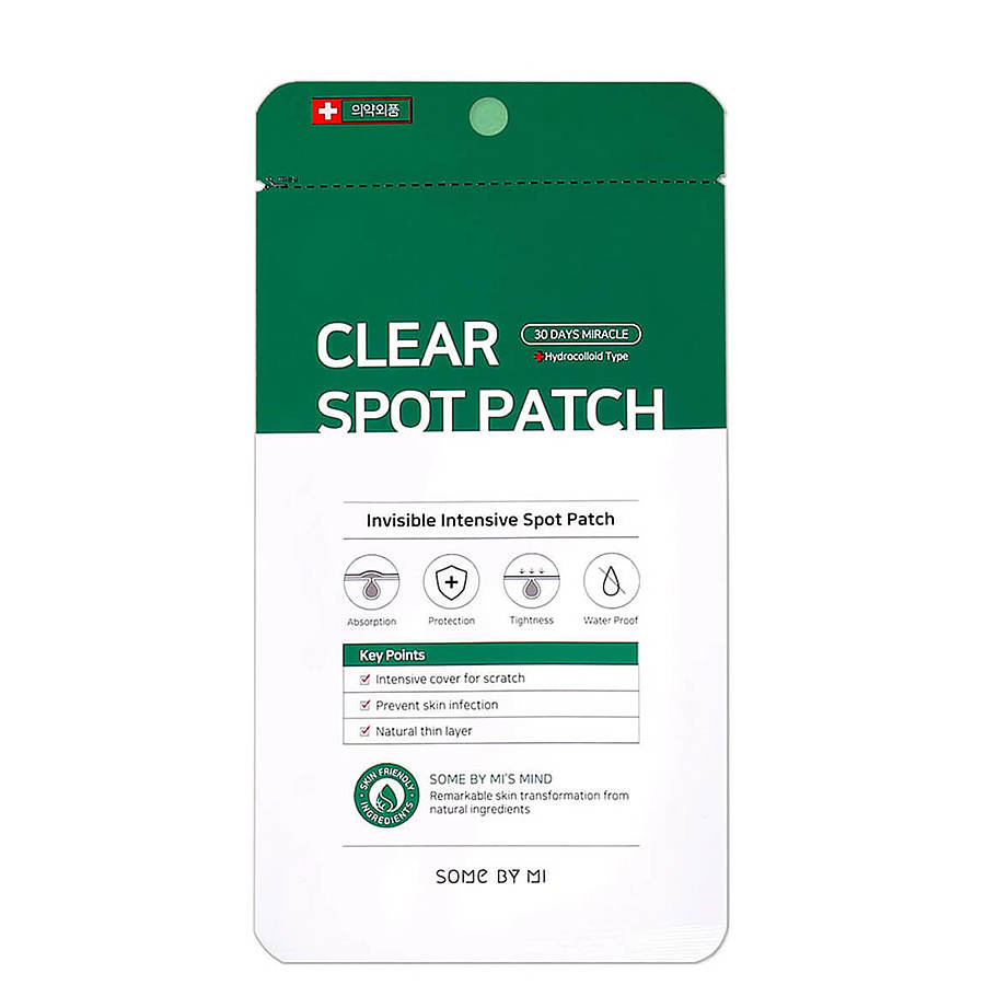 SOME BY MI 30 Days Miracle Clear Spot Patch, 18шт. Антибактериальные патчи против воспалений