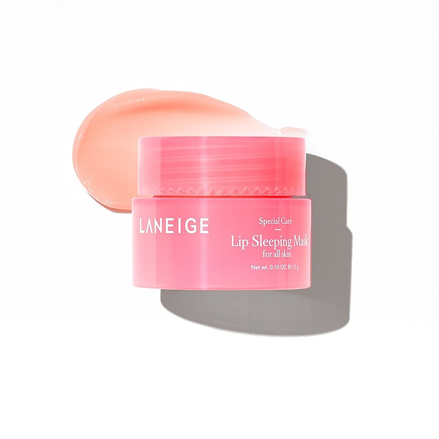 LANEIGE Lip Sleeping Mask Berry (Mini), 3гр. Маска для губ ночная восстанавливающая с экстрактам ягод