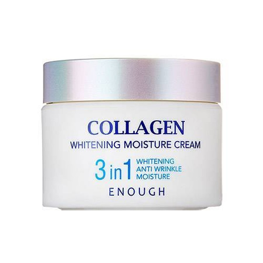 ENOUGH Collagen 3in1 Whitening Moisture Cream, 50мл. Крем для лица и шеи с коллагеном