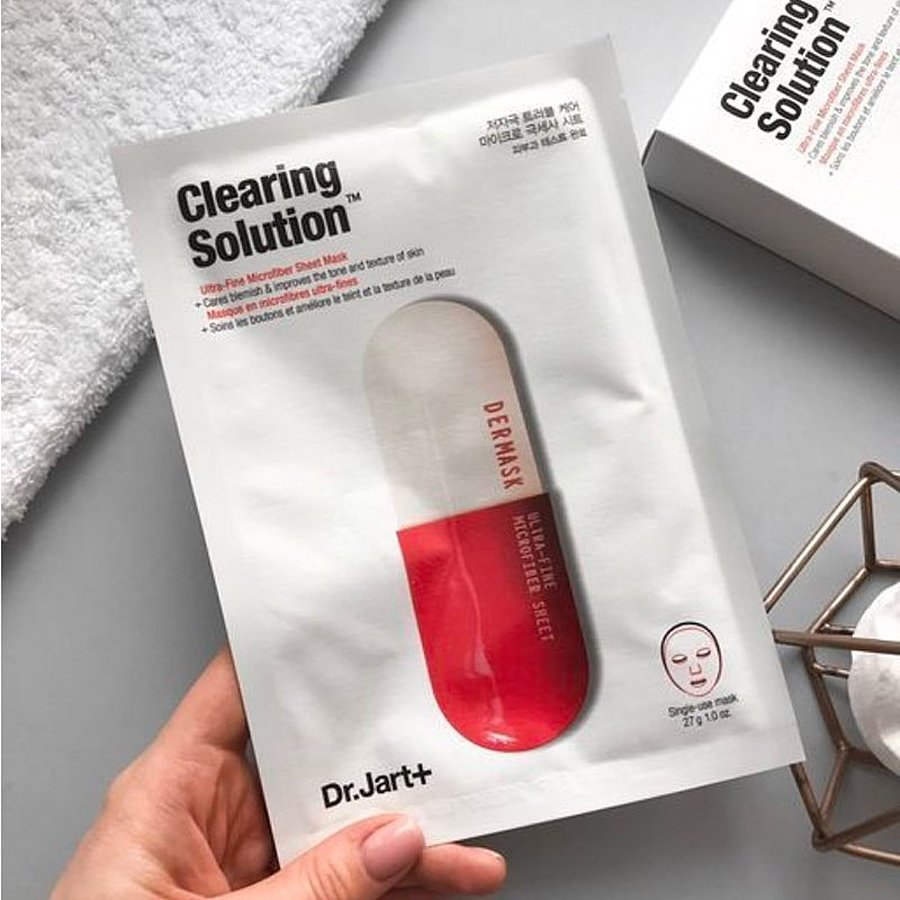 DR. JART+ Dermask Micro Jet Clearing Solution Маска для лица очищающая