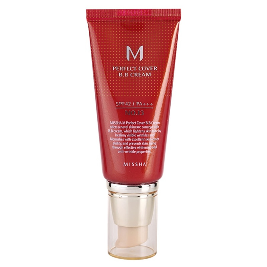 MISSHA M Perfect Cover BB Cream SPF42 PA+++, 50 мл. BB крем #25тон