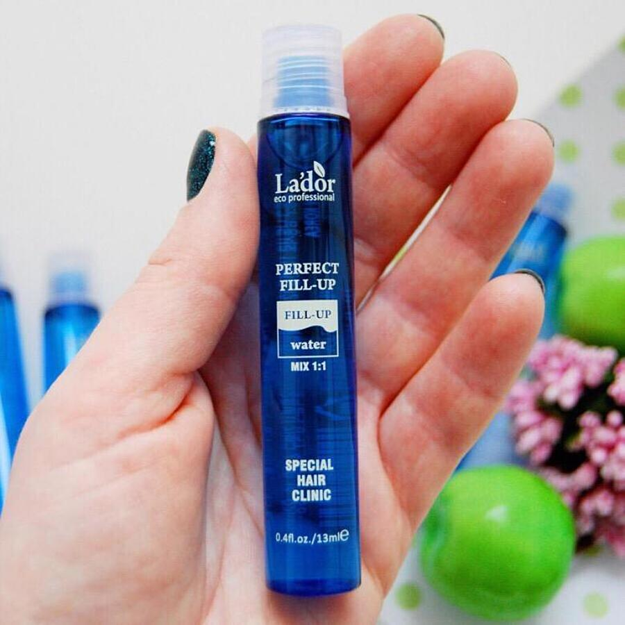 LA'DOR Perfect Hair Filler-Up High-Enriched Hair Ampoule Professional Salon Care, 10шт. Филлер для восстановления волос