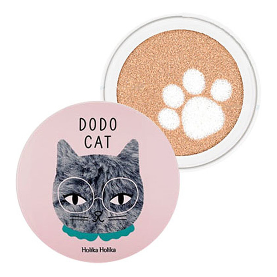 HOLIKA HOLIKA Change Dodo CAT Glow Cushion BB, 15гр. Кушон для лица